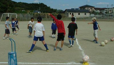 第8回 親子で楽しむサッカー教室_c0218303_10342143.jpg