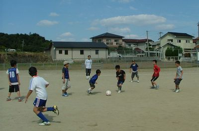 第8回 親子で楽しむサッカー教室_c0218303_10385154.jpg