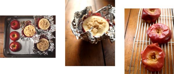 焼きりんごのチーズケーキ_d0174704_22344269.jpg