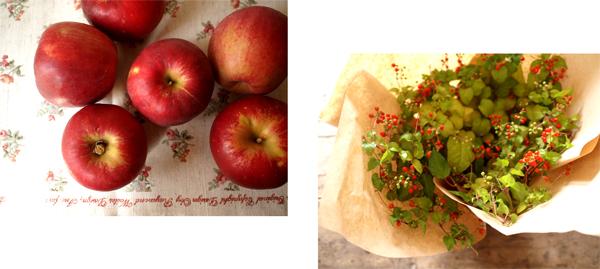 焼きりんごのチーズケーキ_d0174704_22392193.jpg
