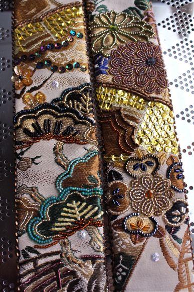 新作「リバーシブルビーズ刺繍帯地ベルト」着用写真!_f0170519_22555013.jpg