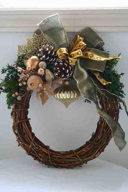 クリスマスリース教室_c0146921_19264158.jpg