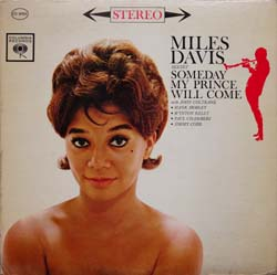 Miles Davis / Someday My Prince Will Come  (Columbia CS 8456)_d0102724_1747866.jpg