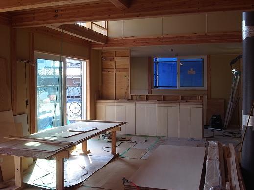 袴塚の家 造作家具工事 2010/10/18_a0039934_1725999.jpg