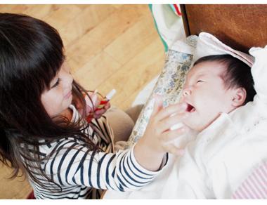 赤ちゃんと小さなお姉ちゃん_e0172847_19434392.jpg