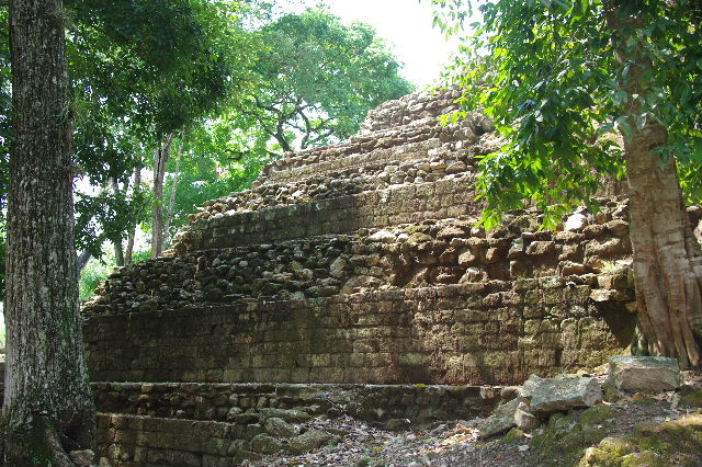 コパン遺跡 (6) 東広場から神聖文字の階段へ_c0011649_1035836.jpg