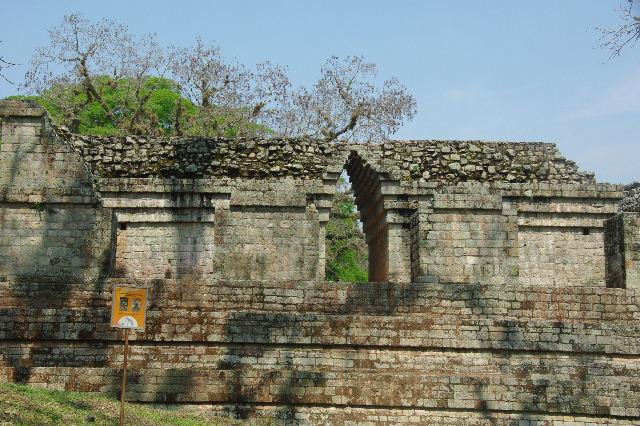 コパン遺跡 (6) 東広場から神聖文字の階段へ_c0011649_105327.jpg