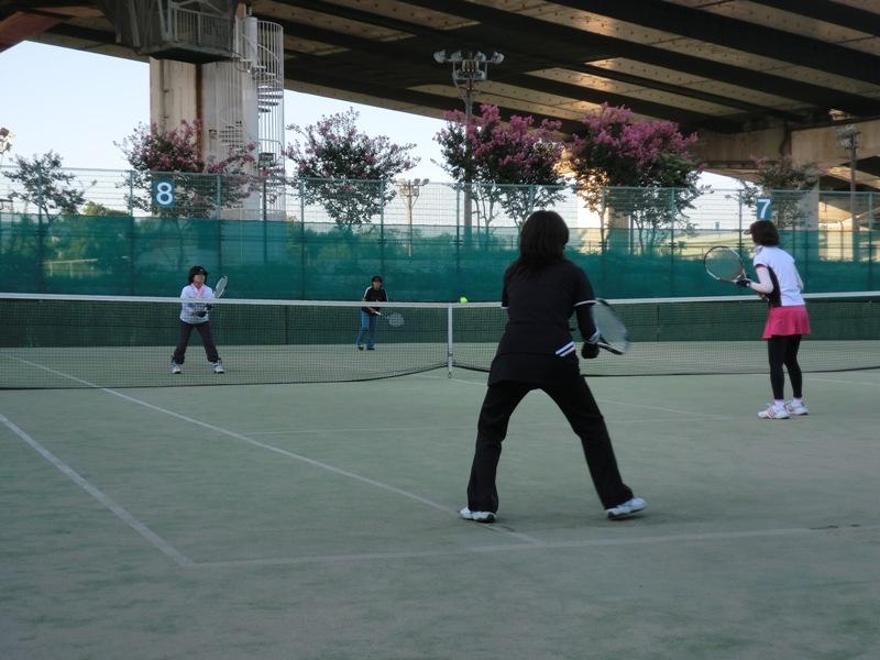 ■ テニス秋の団体戦_f0238779_8465919.jpg