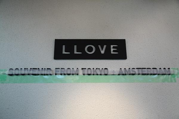 『LLOVE』SOUVENIR FROM TOKYO + AMSTERDAMにて_f0204300_19202015.jpg