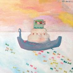 2010/11/23-28 進川桜子展  - 少女画の世界 - 【油彩画、アクリル画、木版画】_e0091712_2214462.jpg