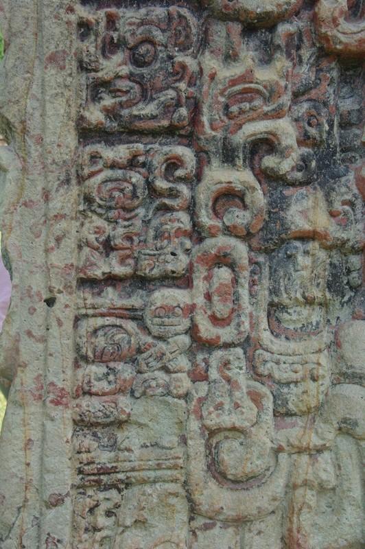 コパン遺跡 (8) グランプラザのステラ(石碑)群_c0011649_19312960.jpg