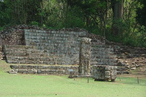 コパン遺跡 (8) グランプラザのステラ(石碑)群_c0011649_19435413.jpg