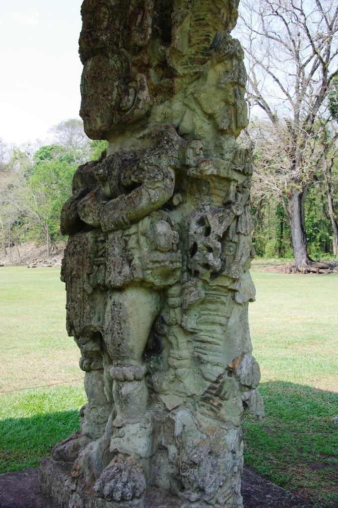 コパン遺跡 (8) グランプラザのステラ(石碑)群_c0011649_19523622.jpg