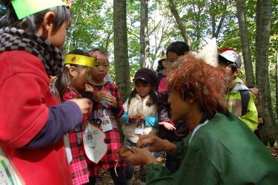 生物多様性ーブナの森のムッレ体験教室 大成功。_a0036384_311252.jpg