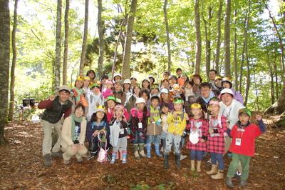 生物多様性ーブナの森のムッレ体験教室 大成功。_a0036384_315886.jpg
