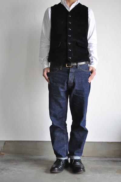 GARMENT REPRODUCTION OF WORKERS FRENCH GARDENER VEST<br />