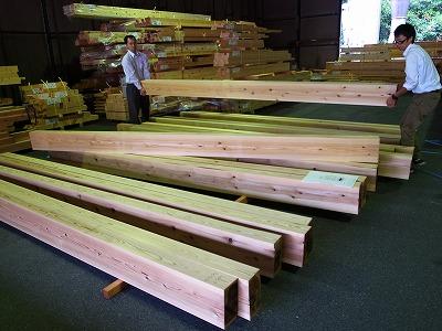 材木検査 墨付け_f0059988_17533910.jpg