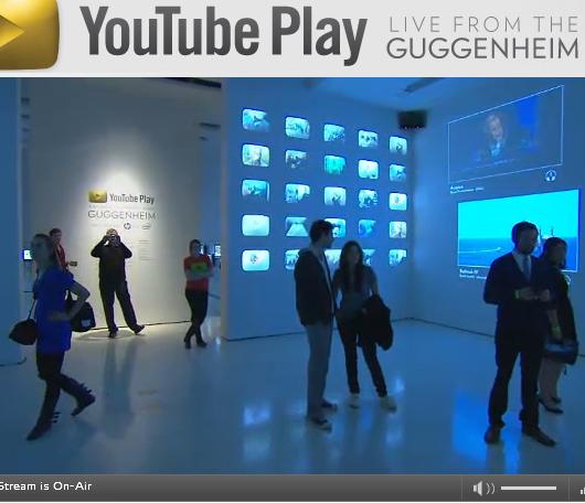 ただ今、Youtubeでニューヨークのグッゲンハイム美術館から全世界に向けた生中継中_b0007805_102037.jpg