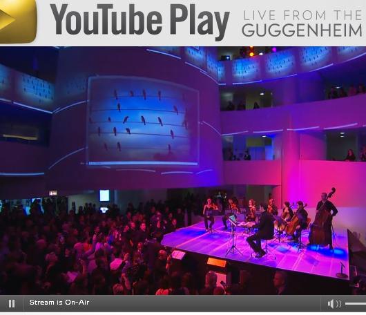 ただ今、Youtubeでニューヨークのグッゲンハイム美術館から全世界に向けた生中継中_b0007805_9104742.jpg