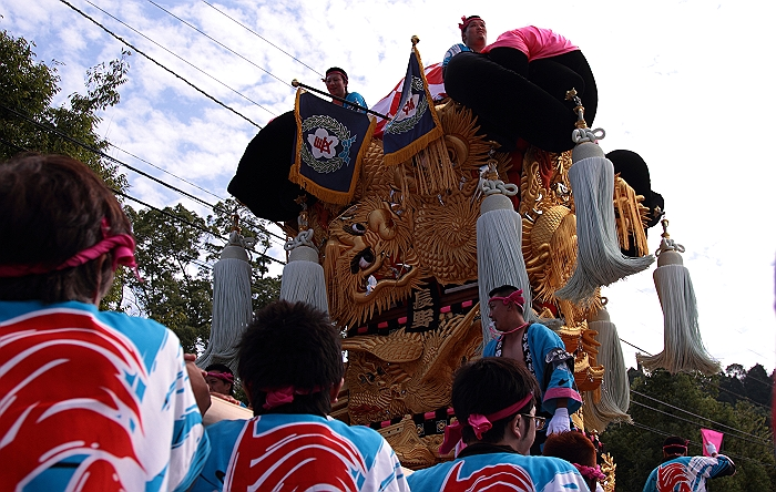 """""""新居浜太鼓祭り"""" 大人太鼓_a0140608_6153478.jpg"""