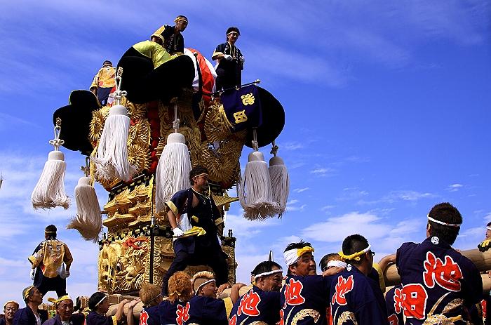 """""""新居浜太鼓祭り"""" 大人太鼓_a0140608_6173093.jpg"""