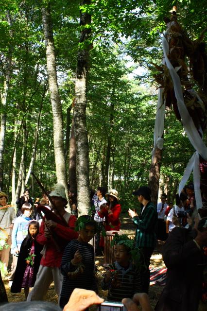 森の中の素敵なブライダル_c0188809_0424611.jpg