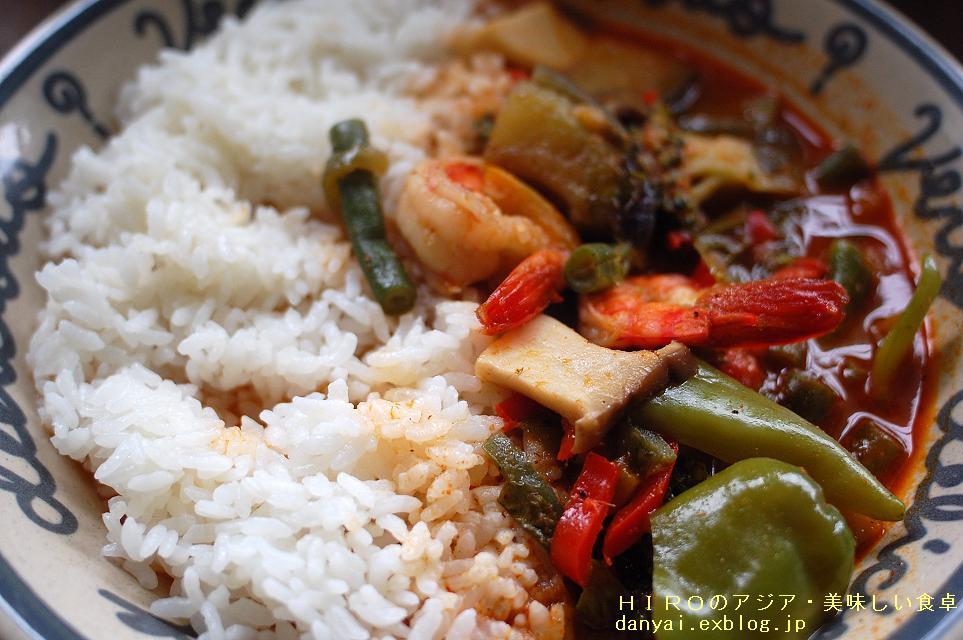 タイ風エビと野菜のシンプルカリー_f0050226_17172220.jpg