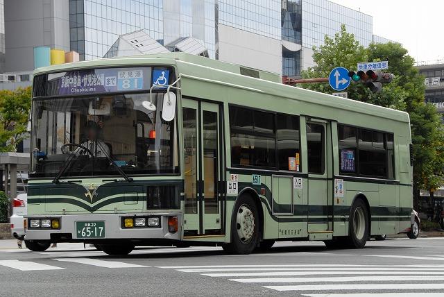 京都市バス~京都駅であまり見れない車両~_a0164734_00982.jpg