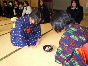 [家庭クラブ員]恒例秋のお茶会_b0205965_1340125.jpg