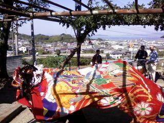 獅子舞い奉納_a0064474_1953250.jpg