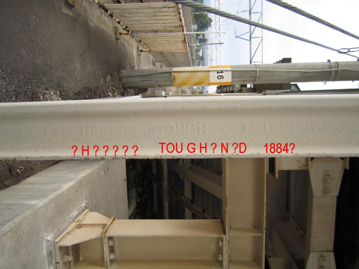 渡道顛末記拾遺 川部駅の跨線橋は19世紀生まれの古レール_f0030574_23564664.jpg