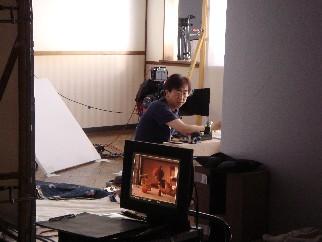 こまねこプロデューサーの 「カコナールの撮影現場レポート」5_c0084780_13585187.jpg