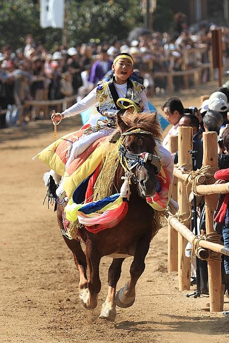 """""""菊間祭り"""" お供馬の走り込み_a0140608_1051864.jpg"""