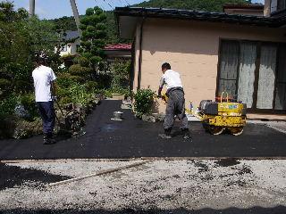 物置小屋から車庫へ改修 続き_f0105112_17364564.jpg