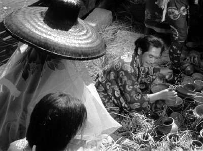 和風ハロウィーン怪談特集1 溝口健二監督『雨月物語』(大映、1953年) その2_f0147840_22591936.jpg
