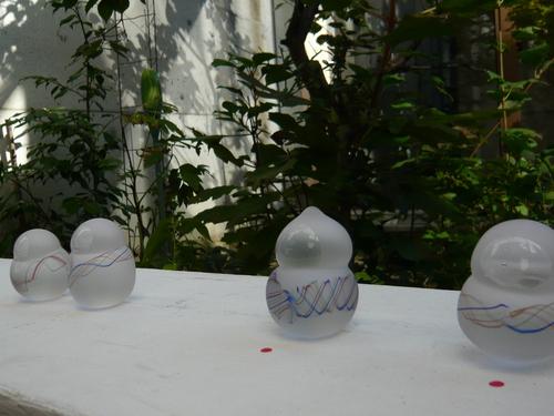 「硝子研究」 ギャラリーガラスのピラミッド_b0151262_12335243.jpg