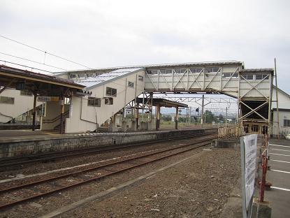 渡道顛末記拾遺 川部駅の跨線橋は19世紀生まれの古レール_f0030574_0302080.jpg