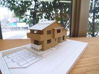 「加木屋町の家Ⅱ」 スタディ模型_f0059988_83663.jpg