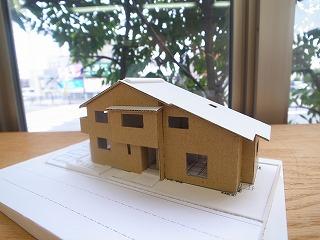 「加木屋町の家Ⅱ」 スタディ模型_f0059988_8495017.jpg
