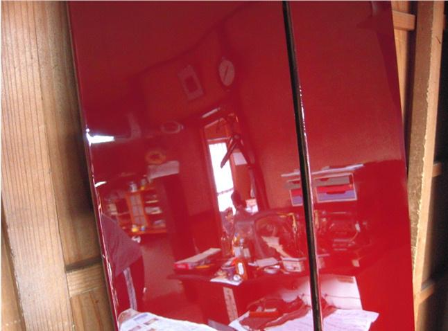 仏壇の修理 その9  呂色仕上げ  2010.10.23_c0213599_22251721.jpg