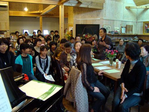 沙羅の森コンサート_a0047200_20154553.jpg