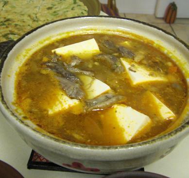 豆腐チゲ。_c0119140_12391484.jpg