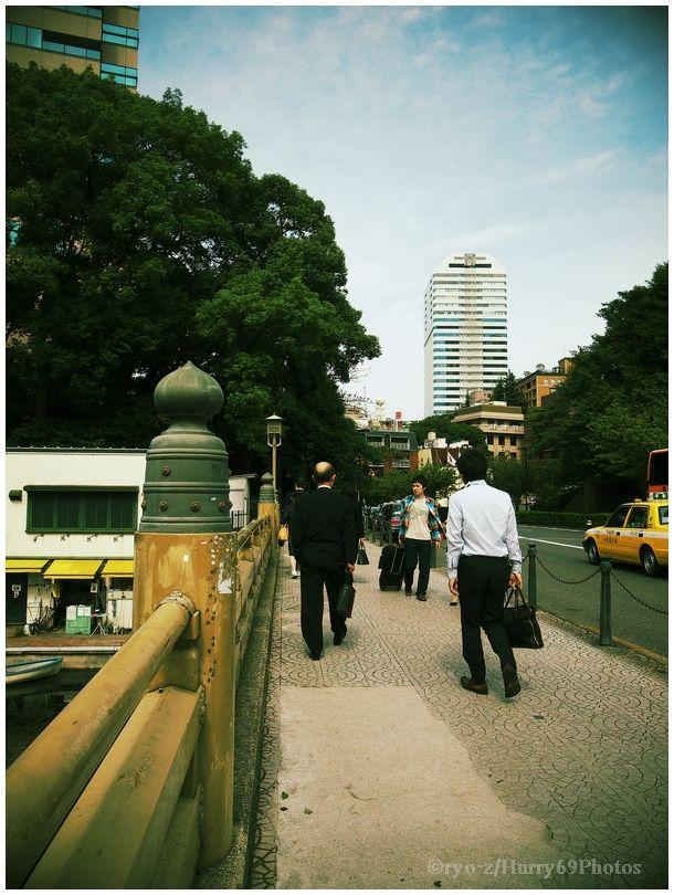 弁慶橋界隈 SILKYPIX テイストDCPイエロー_e0063851_935852.jpg