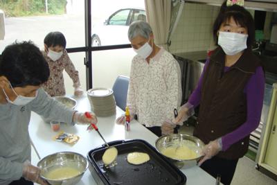 10/23ホットケーキを作りました☆_a0154110_10413114.jpg