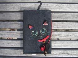 黒猫のブックカバー/納品しました_c0117635_23482999.jpg