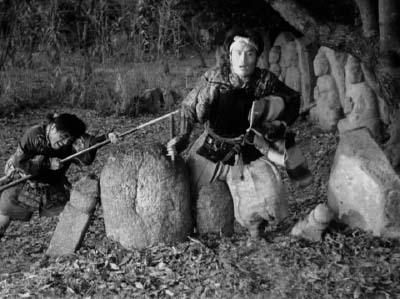 和風ハロウィーン怪談特集1 溝口健二監督『雨月物語』(大映、1953年) その4_f0147840_23535846.jpg