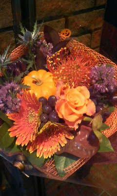 ハロウィン花束その2_c0137266_2281516.jpg