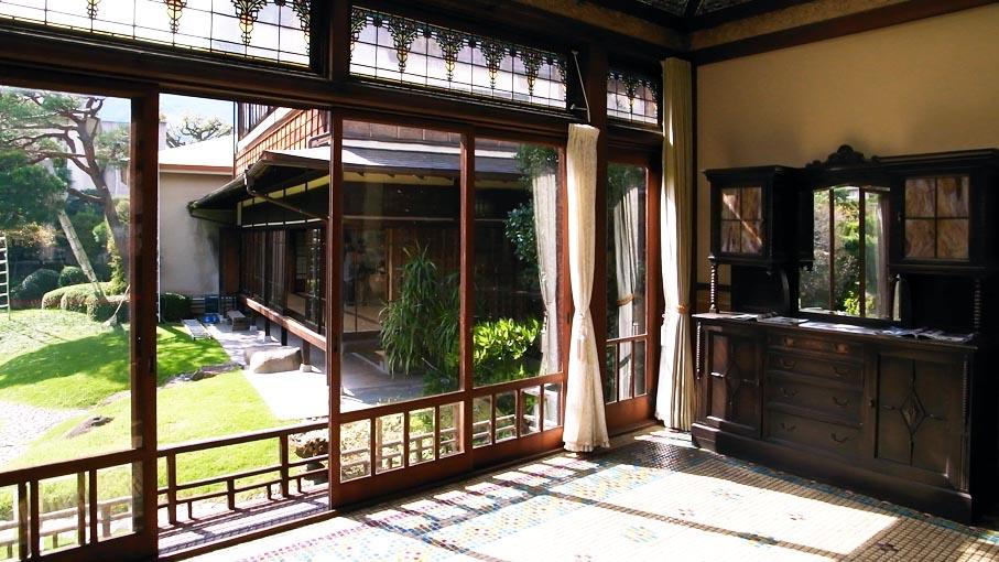 熱海近代別荘建築探訪・旧日向別邸など_b0061387_1129690.jpg