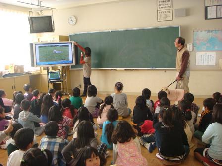 小学校で動物の話を_f0064906_1652245.jpg
