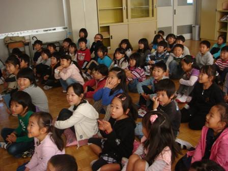 小学校で動物の話を_f0064906_16565465.jpg